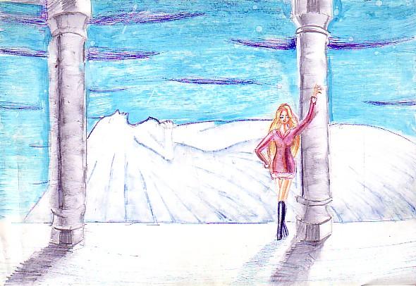 Desen despre iarna si hibernare