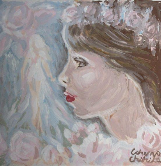 Carmen Iohannis, pictura tempera