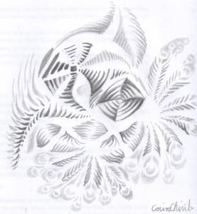 Un desen facut la intamplare cu creionul