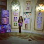 Corina Chirila la Cercul Militar National expozitie de pictura
