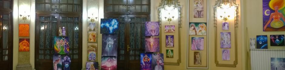 Expozitie de pictura Casa Muzelor Cercul Militar National