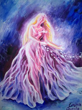 Princess painting - Printesa pictura