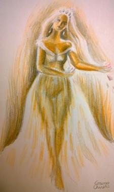 Printesa desen - princess drawing