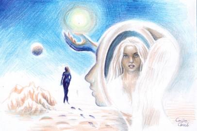 Cerul, desen
