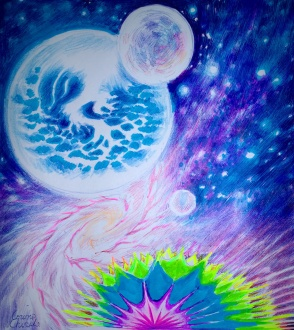 spacescape-with-abstract-fluorescent-rainbow-drawing-peisaj-spatial-desen