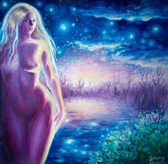 din-cerurile-albastre-pictura-ulei-pe-panza-din-poezia-lui-mihai-eminescu