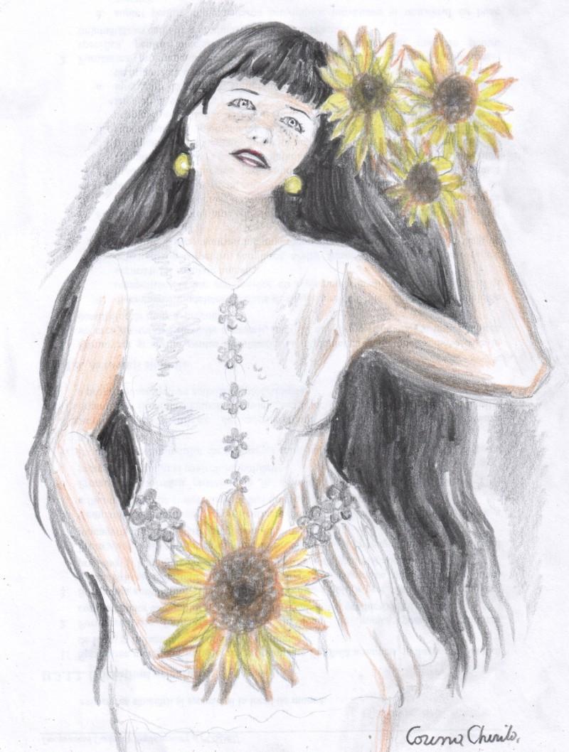 femeie-cu-floarea-soarelui