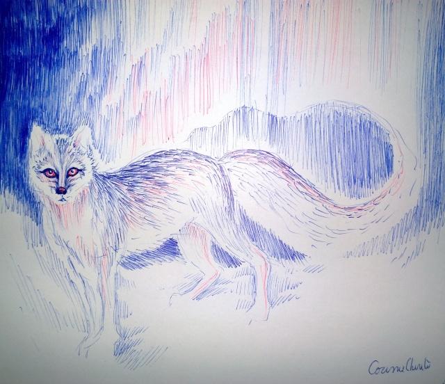 legenda-scandinava-a-aurorei-boreale-desen-facut-cu-pixul
