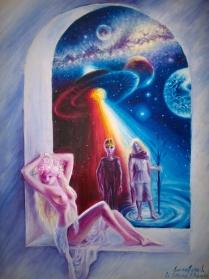 luceafarul-pictura-ulei-pe-panza