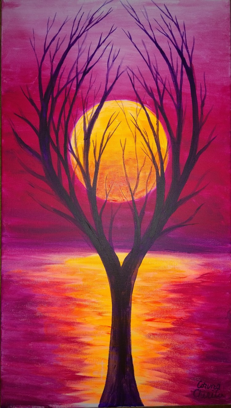 the-tree-in-my-dream-fluorescent-painting-copacul-arhetipal-din-vis-pictura-fluorescenta