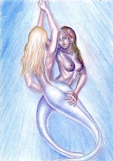 Sirene indragostite desen