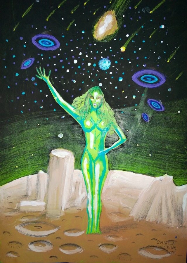 Fata verde
