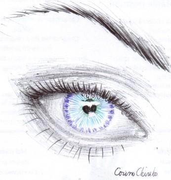 ball point pen drawing of an eye-1