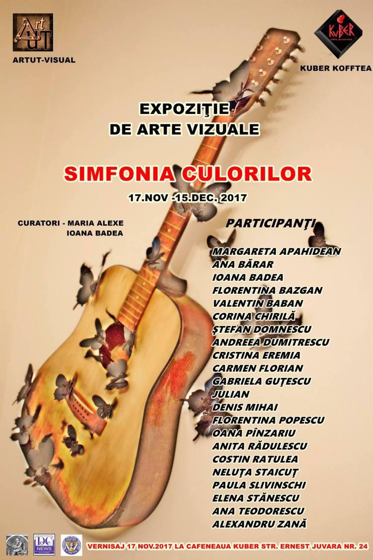 Afis expozitie simfonia culorilor