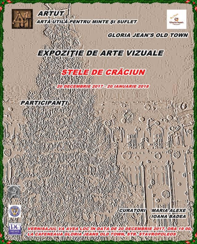 Afis stele de Craciun
