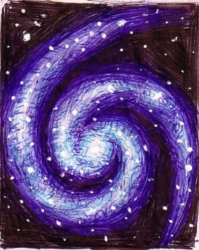 Galaxie-desen in pix