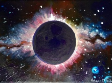 Gaura neagra black hole painting