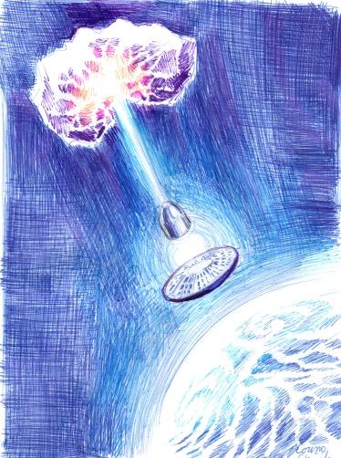 Laser pentru distrugerea asteroizilor pe orbita Pamantului