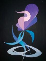 pictura abstracta din liceu