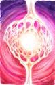 Lumina sinaptica, desen in pix