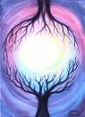 Lumina sinapsei, acuarela