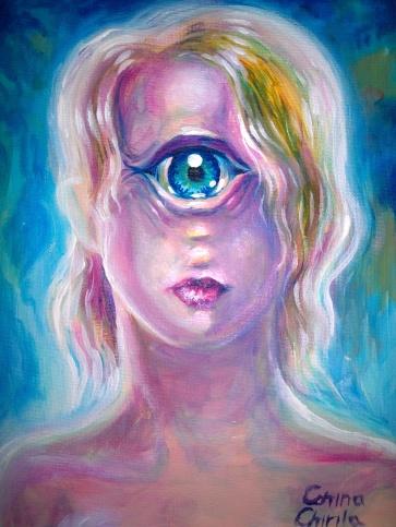 portret de ciclop pictura