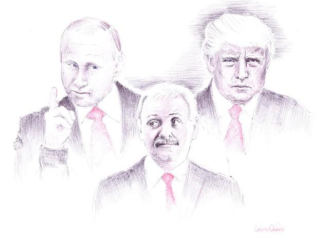 mama tata si copilul familia traditionala Dragnea Trump si Putin