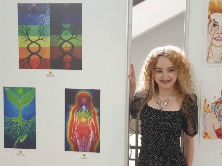 expoziția de artă a Centrului Cultural Studențesc ExTerra Aurum